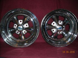 Cragar s s 15x7 Deep Dish Wheels 5 on 51 2 Bolt Circle Ford P U Vans