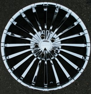 Panther Spline 911 20 Chrome Rims Wheels Chrysler 300 300C AWD