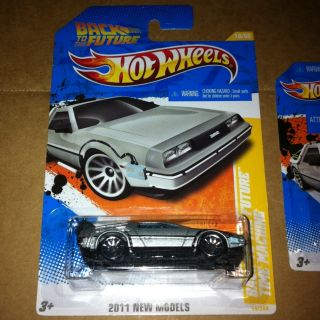 Hot Wheels Back to The Future DeLorean Time Machine 18 50 18 244 New