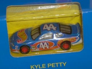 1996 HW 44 Kyle Petty Blue Box Hot Wheels Racing