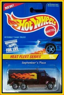 1997 Hot Wheels 539 Peterbilt Tank Truck