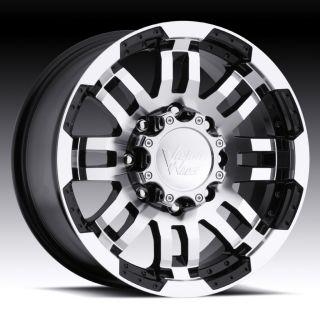 16 inch Vision Warrior Black Wheels Rims 5x130 45