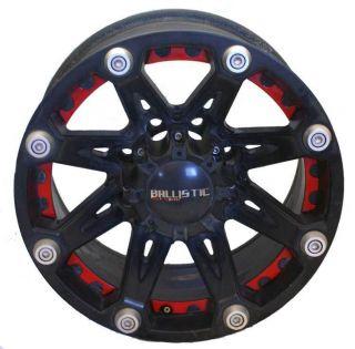 Ballistic Offroad Flat Black 18 inch x 10 8x165 1 Wheels Rims