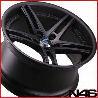 20 Cadillac cts Rohana RC5 Matte Black Concave Wheels Rims