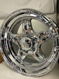 Chrome Raceline Renegade 5 Wheels Rims Dodge Ram 1500 5x5 5 17x8 5 0