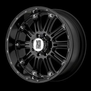 XD HOSS BLACK RIMS WITH 295 70 18 NITTO TRAIL GRAPPLER MT TIRES WHEELS