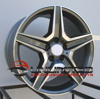18 AMG Wheels Rims Fit Mercedes Benz E320 E350 E500