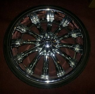 24 inch Rims Bentchi Rims with Tires