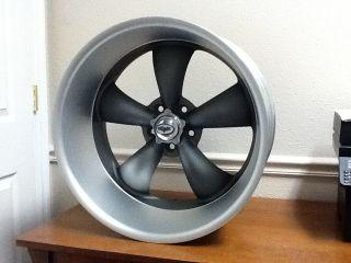 17x7 8 Coys C5 Matt Grey Wheels Chevy Bel Air 55 65 New