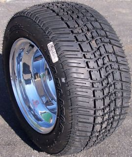 10 Carlisle Tour Max Golf Cart Tires Douglas Rims Wheels Low Profile