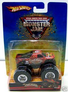 Hot Wheels Monster Jam Truck El Matador 53 70 Toy Bull