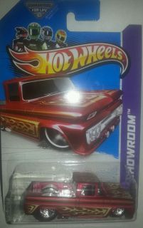 2013 Hot Wheels custom 62 Chevy real riders custom like super treasure