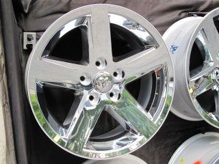 20 Dodge RAM 1500 Factory Style New Chrome Clad Wheel Rim 2364