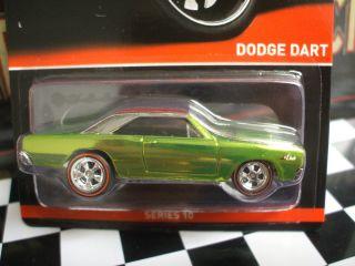 Hot Wheels RLC Dodge Dart Redline Real Rider Series LQQK