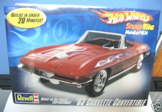 Revell Hot Wheels Model Kit 63 Corvette