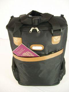 CABIN TROLLEY BAG TRAVEL HAND LUGGAGE FLIGHT HOLDALL WHEELS 55X40X20