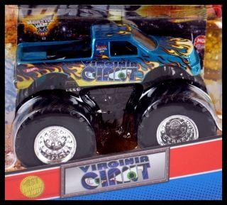 Hot Wheels Monster Jam Truck 1st Editions 2012 Virginia Giant 1 64