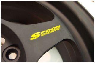 Spoon Sports Rim Decal Sticker Slipstream Rota JDM 16 Set of 6