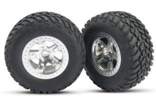 Traxxas Slash Front 2 2 Tires Wheels Glued 2 5875