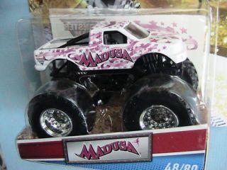 Hot Wheels Monster Jam Truck Madusa World Finals Deco
