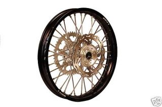 Wheel Rear Honda CR CRF 250 450 19 Billet Hubs Black Rims