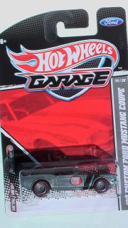 Hot Wheels Garage 2011 67 Mustang Coupe Zamac New Mint