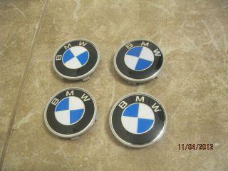 BMW SET OF 4 PEACES CENTER WHEEL RIM HUB CAP 68MM DOME HUBS CAPS 4PCS