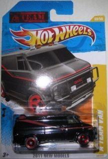 Hot Wheels A Team Van 2011 New Models 1 64 Scale Die Cast New