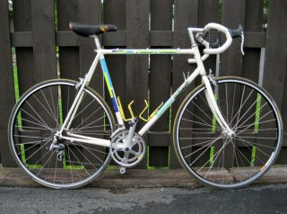 NASHBAR 59cm ROAD BIKE 14 SPEED SHIMANO EXAGE BICYCLE MAVIC 700c RIMS