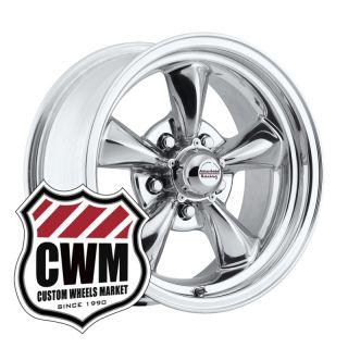 Polished Aluminum Wheels Rims 5x4.75 for Chevy Corvette C2 63 67