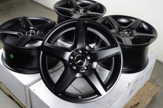18 AMG Staggered Wheels Rims 5x112 Mercedes Benz C55 C63 CLK55 CLS63