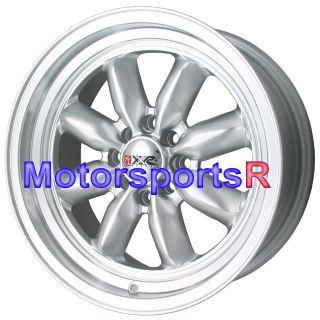 16 16x7 XXR 513 Silver Rims Wheels Deep Dish Lip 85 87 Toyota Corolla