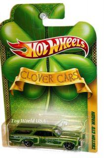 2011 Hot Wheels Clover Cars Custom 66 GTO Wagon