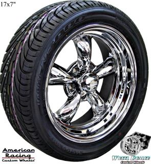 AMERICAN RACING WHEELS TIRES CHEVY IMPALA 1965 1966 1967 1968 1969 70