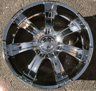 Poltergeist 501 22 Chrome Rims Wheels Toyota Sequoia 4 Runner