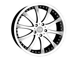 19 adr 62 Silver Wheels Rims Acura Ford Honda infinit Nissan FX35 Q45
