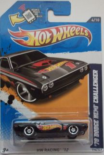 2012 Hot Wheels 70 Dodge Hemi Challenger Col. #174 ( Exclusive