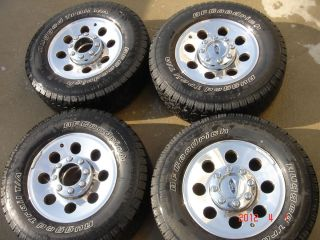 F250 Super Duty Wheels Rims and Tires 2006