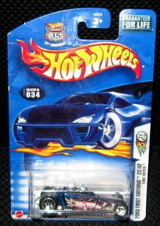 Hot Wheels 35th Anniversary Tire Fryer 2003 First Edition Drag Racing
