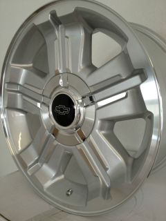 Silverado Z71 OE Factory Replica Wheels Rims 6x5 5 18x8 Tahoe
