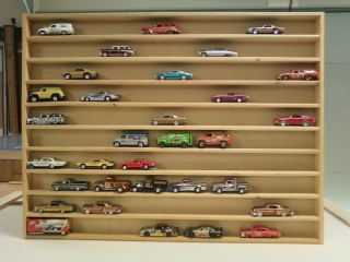 Hot Wheels display case shelf Holds approximately 70 cars. Free