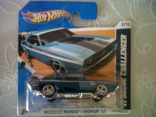 Hot Wheels 2012 Super Treasure Hunt Secret 71 Dodge Challenger