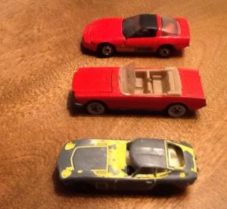 Hot Wheels 65 Mustang 80 Corvette Playart Toyota 2000GT