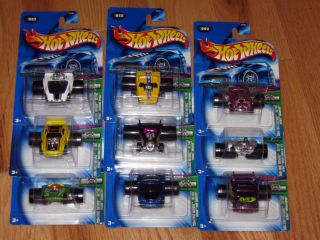 Hot Wheels Diecast Cars 1 64 Scale Lot of 9 FATBAX Shelby First