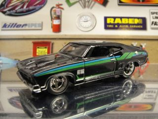 Hot Wheels 2013 Custom Super Treasure Hunt 73 Ford Falcon XB Black