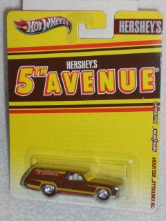 Hot Wheels 2012 Nostalgia Series Hersheys 5th Avenue 70 Chevelle
