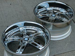 Beyern Wolff 20 Chrome Rims Wheels BMW 525 528 530