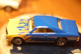 Custom Paiinted Hot Wheels 67 Chevy Chevelle SS Spectraflame Blue w