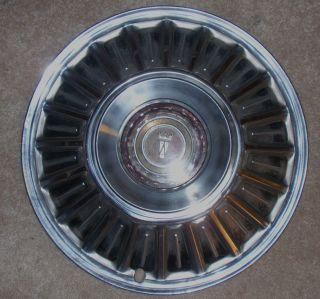 FORD FAIRLANE FALCON GALAXIE LTD Hubcap Rim Wheel Cover Hub Cap 15 OEM