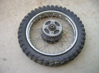 Honda XL75 XR75 Rear Wheel Rim XL XR 75